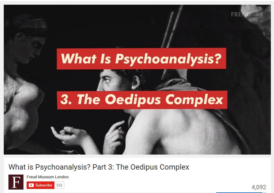 psychoanalysis - oedipus
